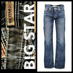 Men's Big Star Distressed Pioneer Boot Jeans 33R